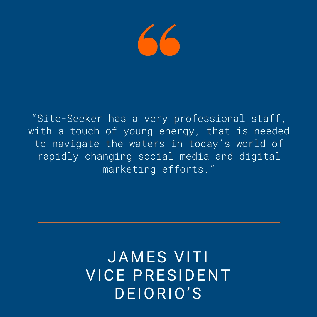 DeIorio's - Testimonial Quote for SSI Website