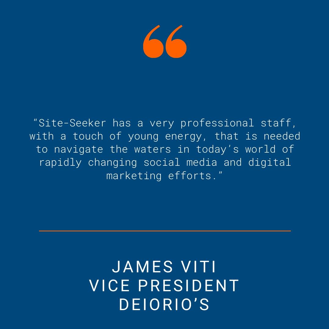 DeIorio's - Testimonial Quote for SSI Website