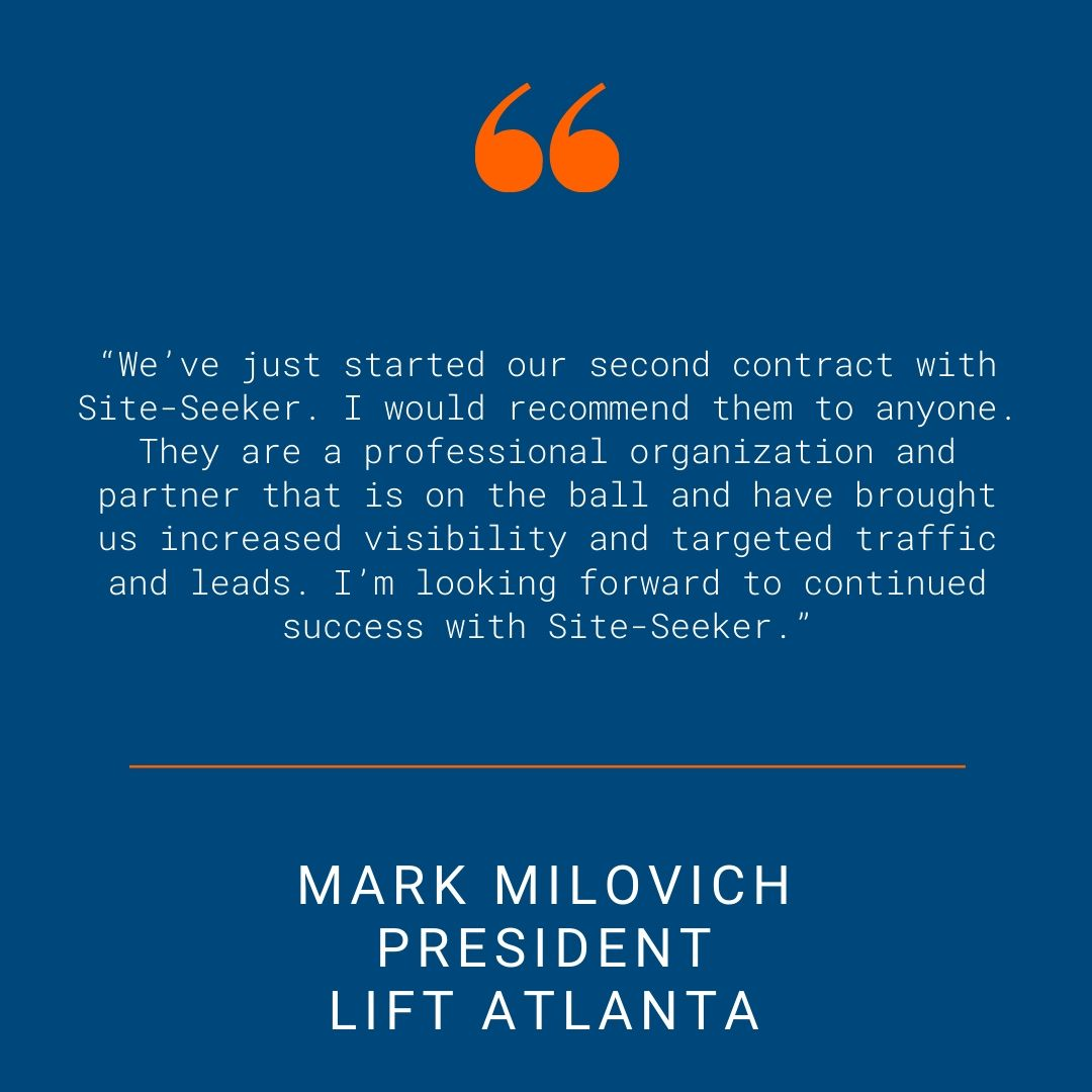 Lift Atlanta - Testimonial Quote for SSI Website