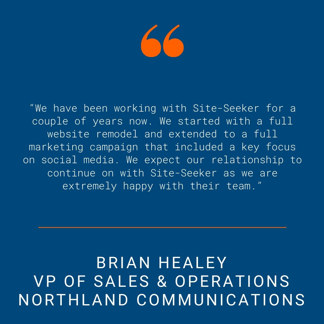 Northland Communications - Testimonial Quote for SSI Website