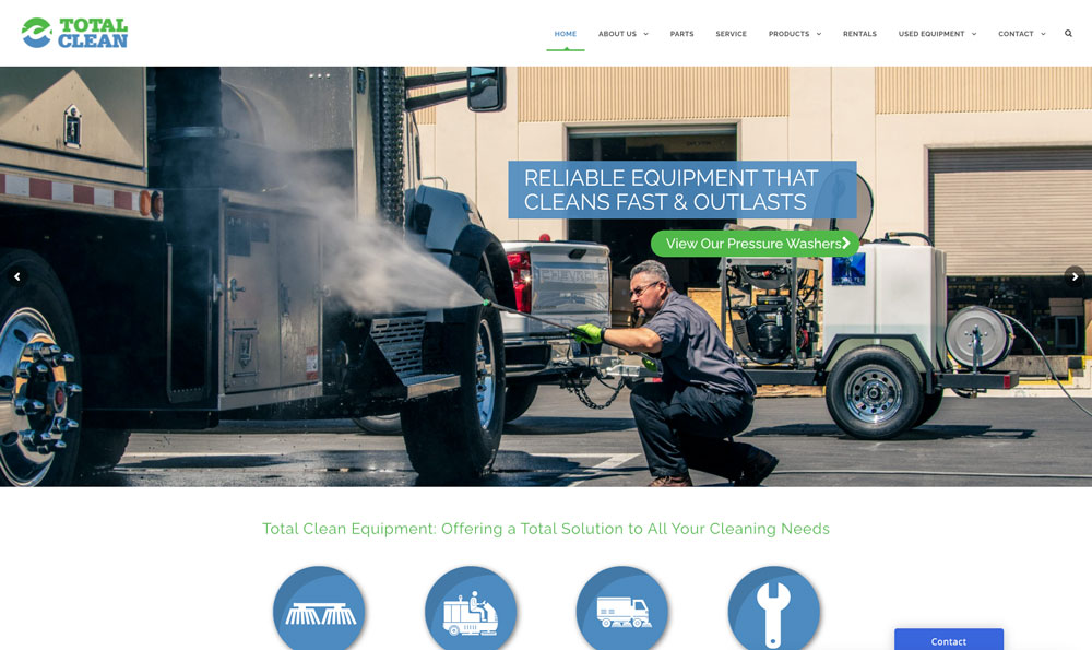 Total-Clean-Website